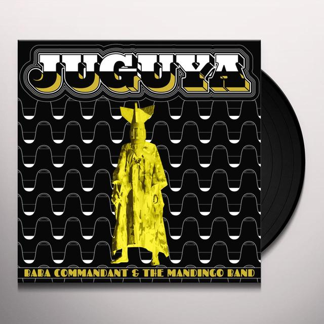 BABA COMMANDANT & THE MANDINGO BAND JUGUYA Vinyl Record