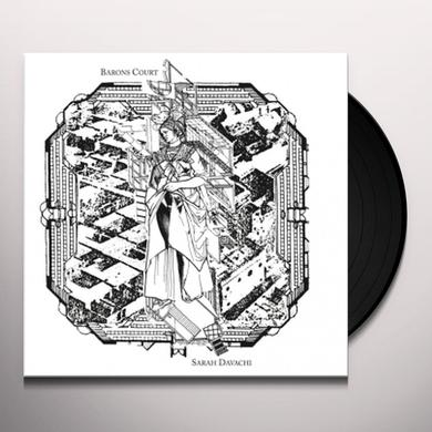 Sarah Davachi BARONS COURT Vinyl Record