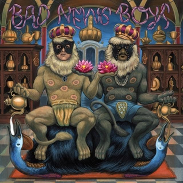 The King Khan & BBQ Show BAD NEWS BOYS Vinyl Record