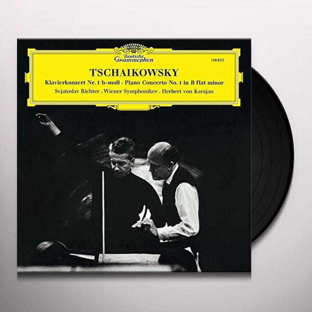 TCHAIKOVSKY / RICHTER / KARAJAN / BERLINER PHILHAR PIANO CONCERTO NO 1 Vinyl Record - Limited Edition