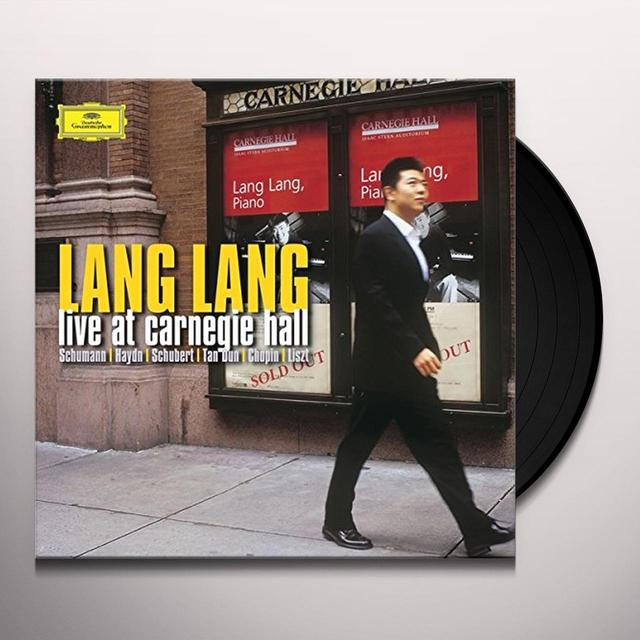 Lang Lang LIVE AT CARNEGIE HALL Vinyl Record