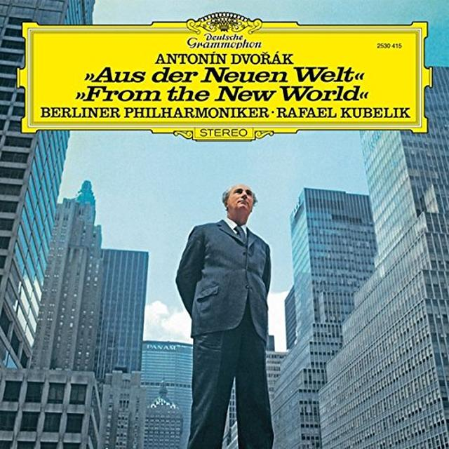DVORAK / KUBELIK / BERLINER PHILHARMONIKER SYMPHONY NO 9 FROM THE NEW WORLD Vinyl Record - Limited Edition