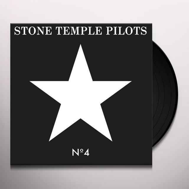 Stone Temple Pilots NO. 4 Vinyl Record - Holland Import