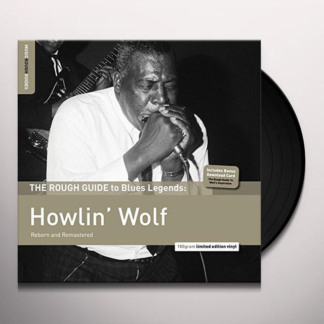 ROUGH GUIDE TO BLUES LEGENDS: HOWLIN' WOLF Vinyl Record - UK Import