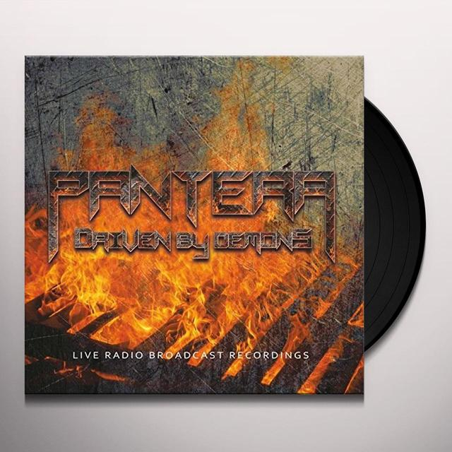 Pantera DRIVEN BY DEMONS Vinyl Record - UK Release