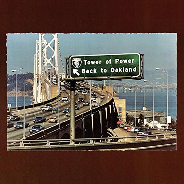 Tower Of Power BACK TO OAKLAND Vinyl Record - Holland Import
