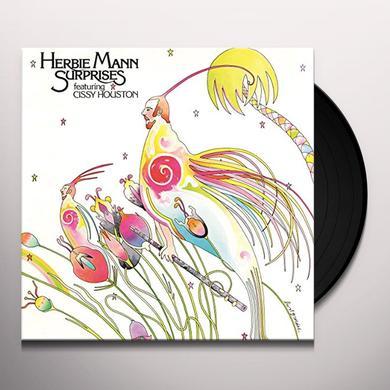 Herbie Mann SURPRISES Vinyl Record - Holland Import