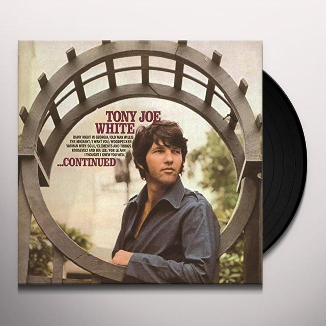 Tony Joe White CONTINUED Vinyl Record - Holland Import