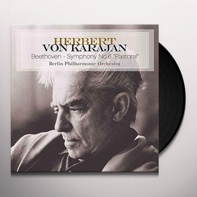 Herbert Von Karajan BEETHOVEN-SYMPHONY NO. 6 PASTORAL Vinyl Record - Holland Import