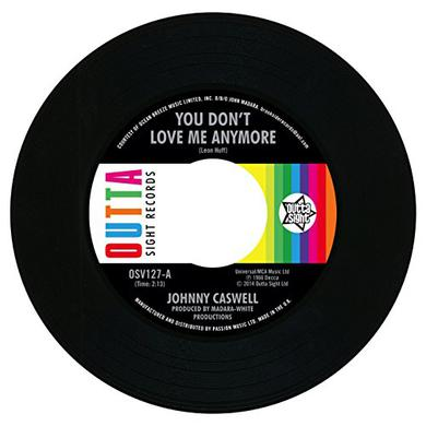 Jonny Caswell YOU DON'T LOVE ME ANYMORE / I.O.U Vinyl Record