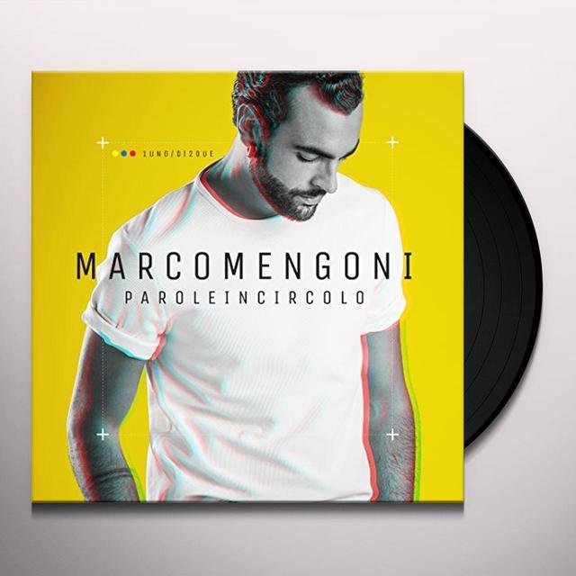 Marco Mengoni PAROLE IN CIRCOLO Vinyl Record - Italy Release