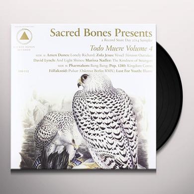 TODO MUERE VOL 4 / VARIOUS (UK) TODO MUERE VOL 4 / VARIOUS Vinyl Record - UK Import