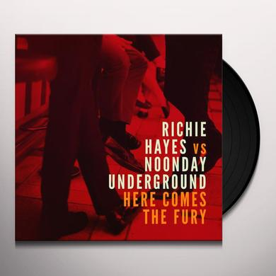 Richie Hayes HERE COMES THE FURY Vinyl Record - UK Import