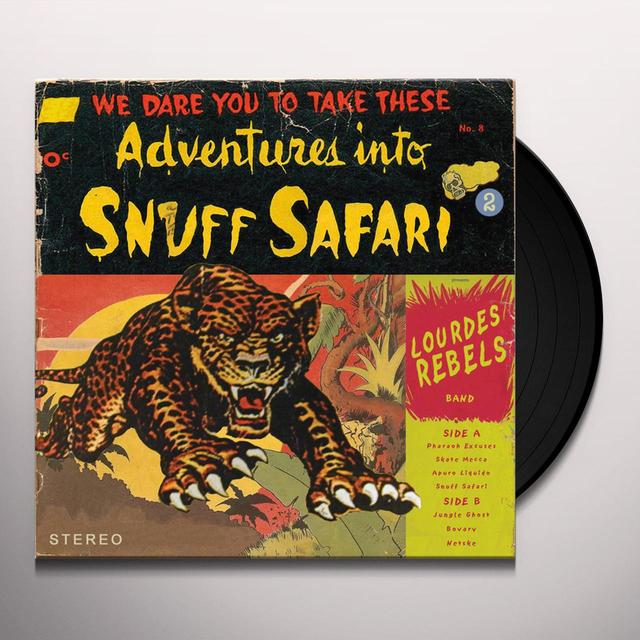 LOURDES REBELS SNUFF SAFARI Vinyl Record