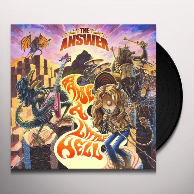 Answer RAISE A LITTLE HELL (UK) (Vinyl)
