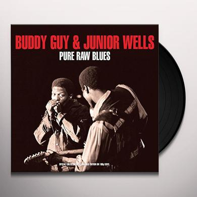 Buddy Guy PURE RAW BLUES Vinyl Record - UK Import