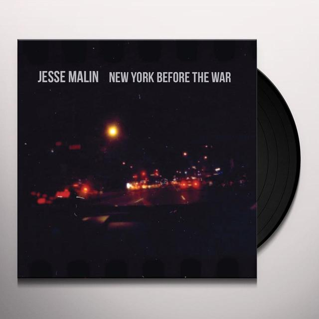 Jesse Malin NEW YORK BEFORE THE WAR Vinyl Record - UK Import
