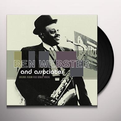 BEN WEBSTER & ASSOCIATES Vinyl Record - Holland Import