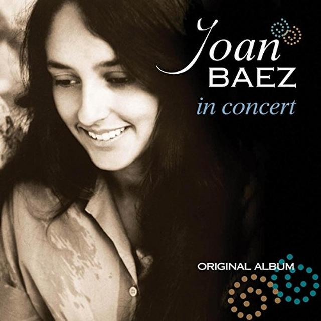 Joan Baez IN CONCERT Vinyl Record - Holland Import