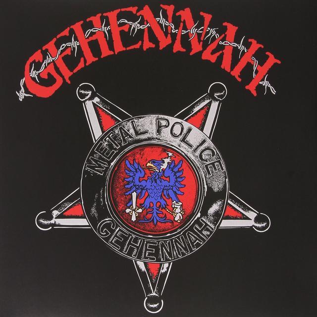 Gehennah METAL POLICE (ARG) Vinyl Record