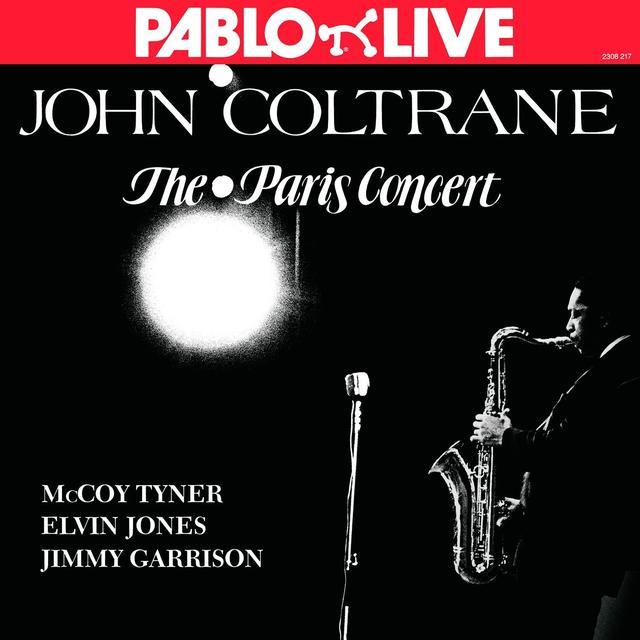 John Coltrane PARIS CONCERT Vinyl Record