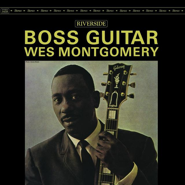 Wes Montgomery BOSS GUITAR Vinyl Record