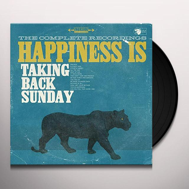 Taking Back Sunday HAPPINESS IS: THE COMPLETE RECORDINGS (BOX) Vinyl Record