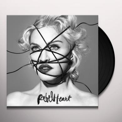 Madonna REBEL HEART (DELUXE) Vinyl Record - Deluxe Edition