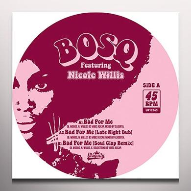 BOSQ BAD FOR ME Vinyl Record - Colored Vinyl, Limited Edition