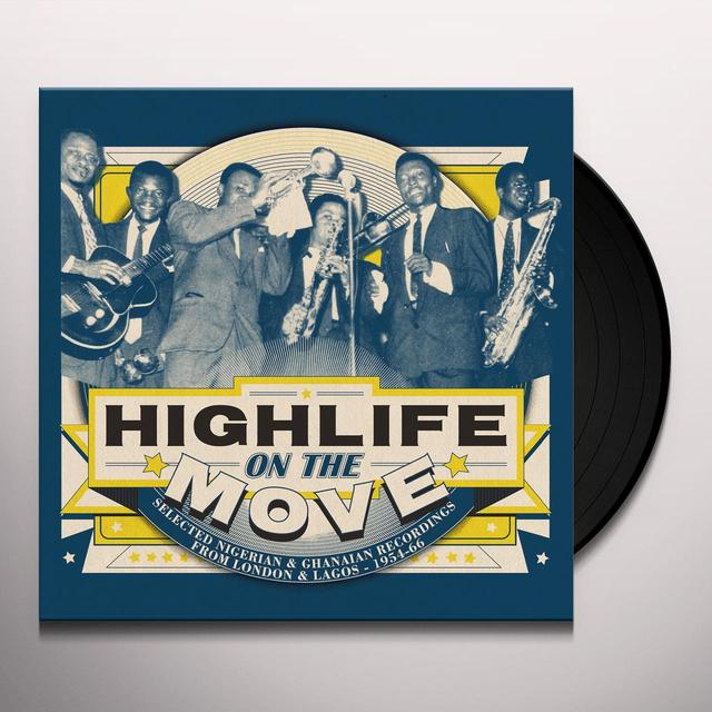 HIGHLIFE ON THE MOVE / VARIOUS (GATE) (WSV) HIGHLIFE ON THE MOVE / VARIOUS  (WSV) Vinyl Record - Gatefold Sleeve