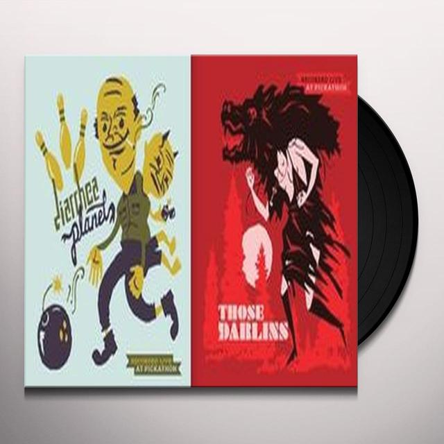 THOSE DARLINS / DIARRHEA PLANET LIVE AT PICKATION SPLIT Vinyl Record