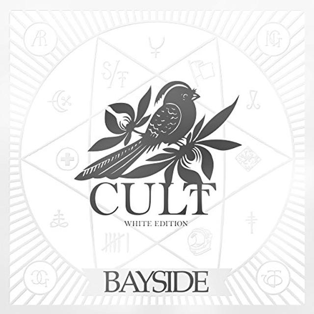 Bayside CULT (WHITE EDITION) Vinyl Record - Gatefold Sleeve