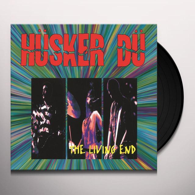 Hüsker Dü LIVING END Vinyl Record - Holland Import