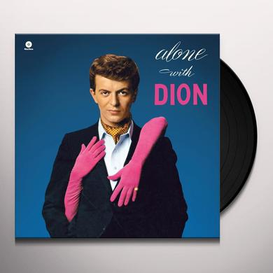 ALONE WITH DION Vinyl Record - Spain Release