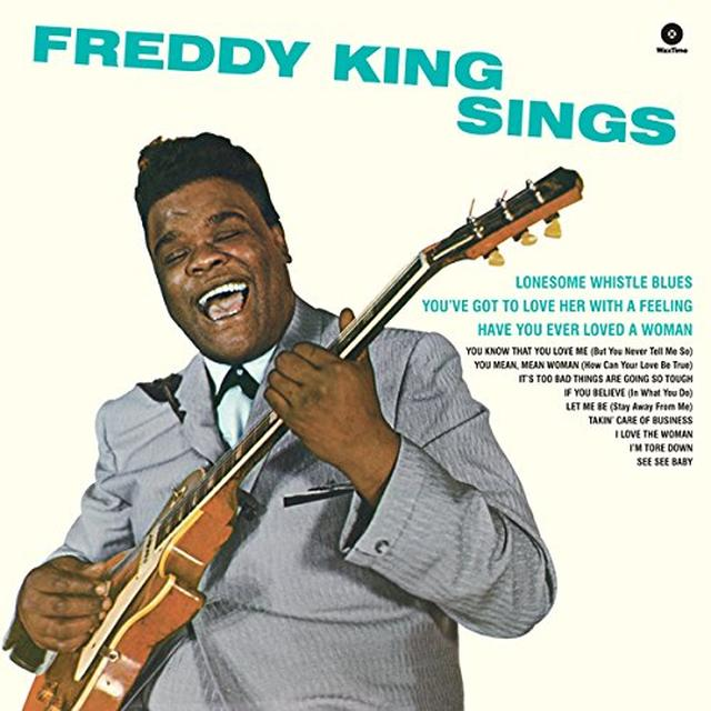 Freddie King FREDDY KING SINGS Vinyl Record - Spain Import