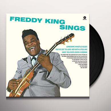 Freddie King FREDDY KING SINGS Vinyl Record - Spain Release