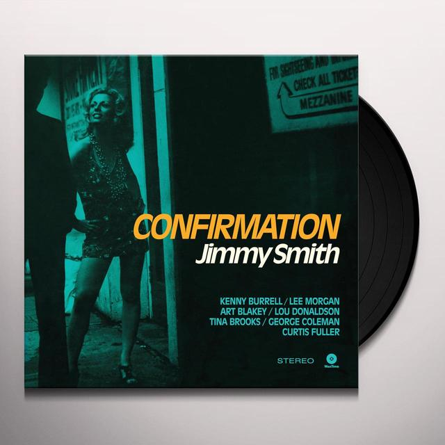 Jimmy Smith CONFIRMATION Vinyl Record - Spain Import