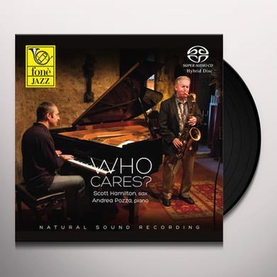 Scott Hamilton / Andrea Pozza WHO CARES? Vinyl Record - Italy Import