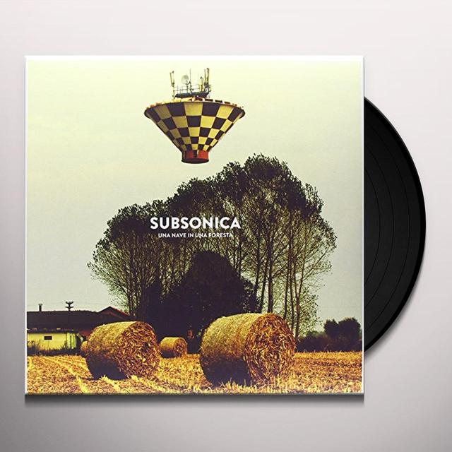 Subsonica UNA NAVE IN UNA FORESTA Vinyl Record - Italy Import