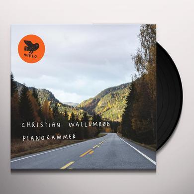 Christian Wallumrød PIANOKAMMER (BONUS CD) Vinyl Record - UK Release