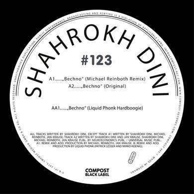 Shahrokh Dini COMPOST BLACK LABEL 123 Vinyl Record