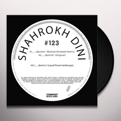 Shahrokh Dini COMPOST BLACK LABEL 123 Vinyl Record