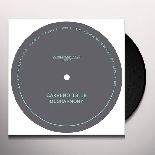 Carreno is LB DISHARMONY (EP) Vinyl Record