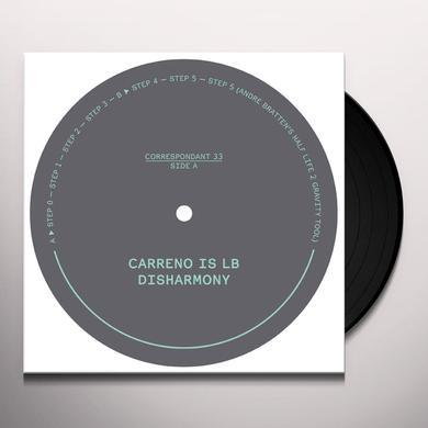 Carreno is LB DISHARMONY (EP) Vinyl Record