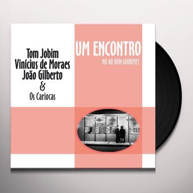 Tom Jobim / Vinicius De Moraes / Joao Gilberto UM ENCONTRO Vinyl Record