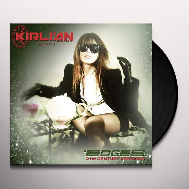 Kirlian Camera EDGES (21ST CENTURY VERSIONS) Vinyl Record