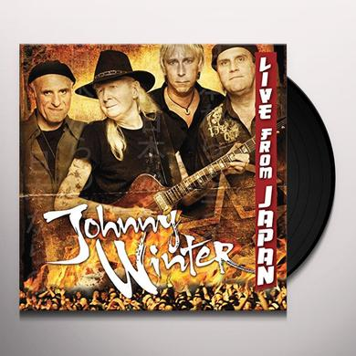 Johnny Winter LIVE FROM JAPAN Vinyl Record