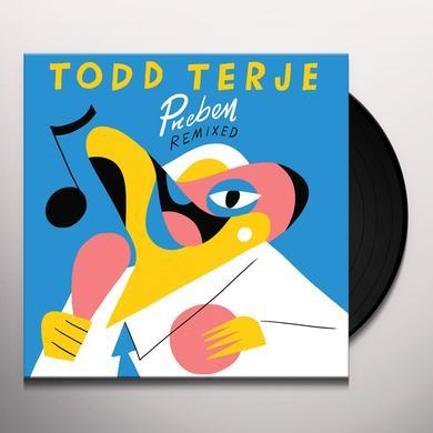 Todd Terje PREBEN REMIXED (I:CUBE / PRINS THOMAS) Vinyl Record