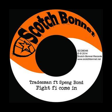 Tradesman FIGHT FI COME IN / 001 DUB Vinyl Record