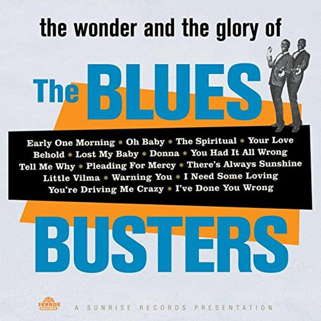 WONDER & GLORY OF THE BLUES BUSTERS Vinyl Record